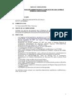 Convocatoria CAS 2020