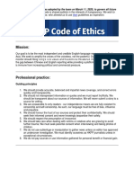 HKFP Code of Ethics