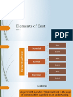 Unit 2_Elements of Cost