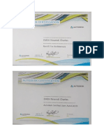 certificates on oil and gas