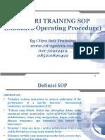 Training SOP