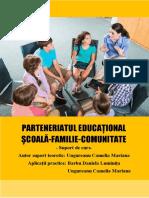 Parteneriat Scoala Familie Comunitate