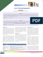 Immune Thrombocytopenia