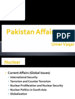 Pakistan Affairs - Nuclear