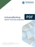 Islamic Financing Origination