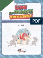 Jocuri pentru copii inteligenti. Carte de activitati 7 ani