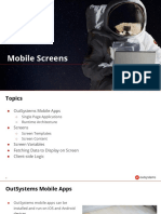4.1-Mobile Screens (Outsystem modul)