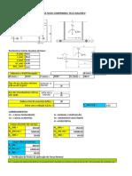 Planilha de Cálculo - Elastômero simples