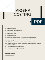 MARGINAL COSTING (ai1)
