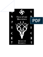 The Voice of our Ancestors by Heinrich Himmler