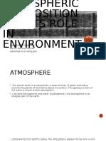 Atmospheric Composition Presentation ppt