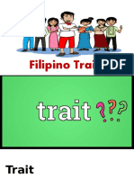 Filipino Traits
