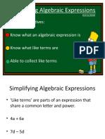 algebra yr 7l