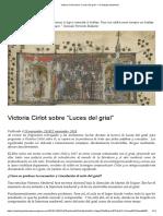 """Victoria Cirlot sobre """"Luces del grial"""" – un trabajo tartamudo.pdf"""