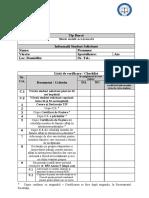 Checklist Bursă socială ocazională