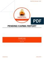 pending karma sample