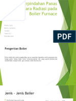 Presentasi Perpindahan panas secara radiasi pada boiler furnace