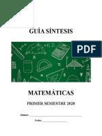 GS MATEMATICA 1S