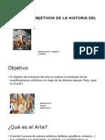 OBJETO Y OBJETIVOS DE LA HISTORIA DEL ARTE.pptx