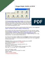 Koneksi Database Dengan Delphi