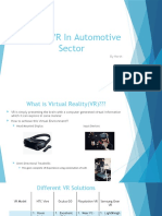 VR For the Automotive Industry[Harsh].pptx