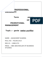 Akash Promotion Term Paper-1