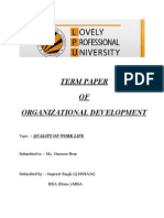 Term Paper.of Od