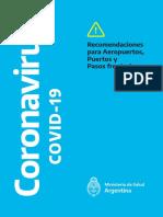 Recomendaciones del COVID-19 para las fronteras
