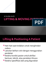 3.LIFTING & MOVING, PATIENT Fixation