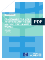 UN Women CoE Access to Justice document FRAMEWORK FOR MEASURING ACCESS TO JUSTICE. Final.pdf