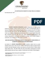 MODELO DE AÇÃO DE RECONHECIMENTO E DISSOLUÇÃO DE UNIAO ESTAVEL.doc
