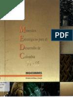 MINERALES ESTRATEGICOS PARA EL DESARROLLO DE COLOMBIA INGEOMINAS 1994 - 1995.pdf
