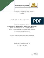Informe de XII FORO DE PRODUCITIVIDADdocx.