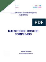 Guía de costos No 13 - Catálogo de costos unitarios Complejos.pdf