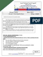 Composition et corrige anglais 2e trimestre TCST 2015.pdf