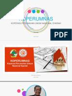 Persentasi Koperumnas Taktakan Serang Residence