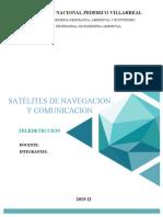 SATELITES DE NAVEGACIÓN Y COMUNICACIÓN
