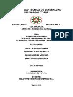 PARADA DE PLANTA PROGRAMADA