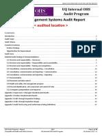 audit report template 03
