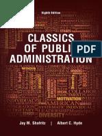 Classics of Public Administration - Jay M. Shafritz & Albert C. Hyde.pdf