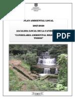 PAL Candelaria 2017 a 2020
