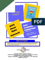 ETFO Human Rights Statement