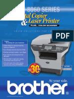 Brother DCP-8060, DCP-8065DN - Brochure