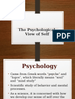 UTSN01G 2- Psychological Perspective of Self.pptx