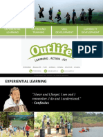 Outlife Outbound Training Brochure