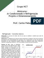 Ar Condicionado - Projeto e Dimensionamento - Minicurso