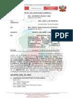 INFORME N°  261 INFORME DE PRE LIQUIDACION