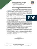 REQUISITOS Y CONDICIONES LIGA ADECUACION MUNICIPIO BIRUACA.