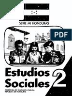 2do - Estudios Sociales - Serie Mi Honduras