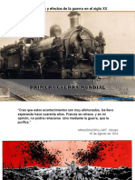 Causas de la I Guerra Mundial
